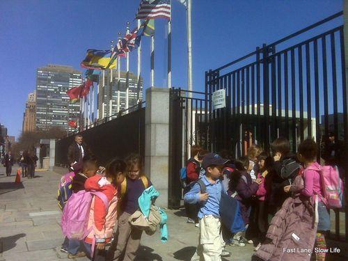 Children at U.N.